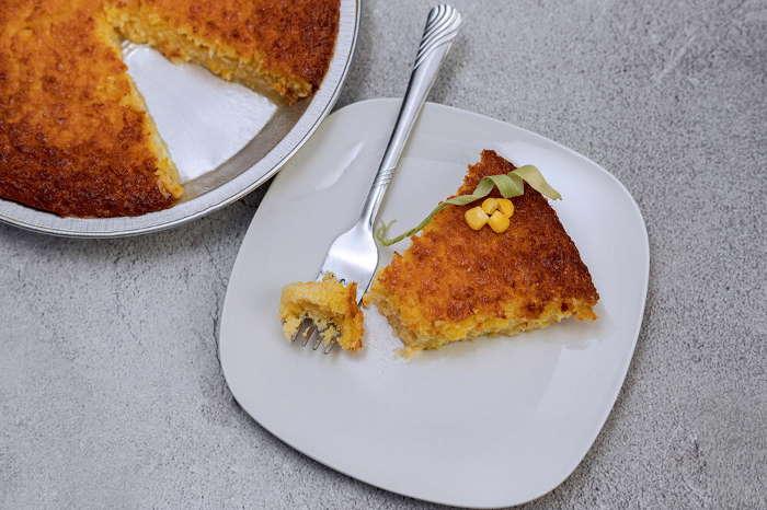 Imagen de pastel de choclo dulce