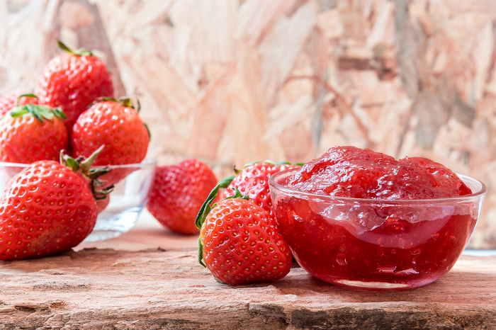 imagen de mermelada de fresa