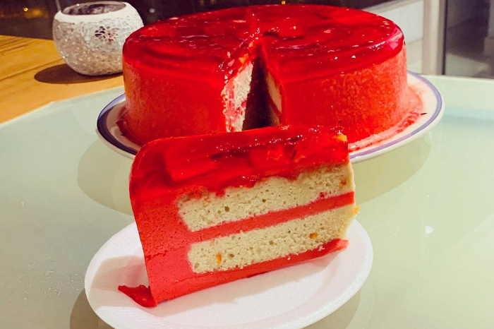 imagen de torta helada peruana